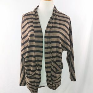 Ya Los Angeles Womans Open Front Cardigan Sweater